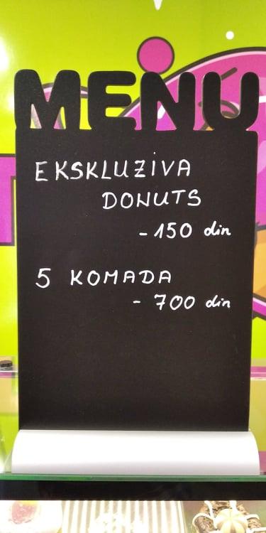 Donut planet cene