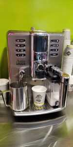 Planet Donat kafe mašina