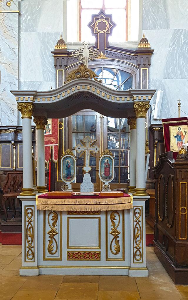 Hram Svetog Vaznesenja Gospodnjeg, Čurug