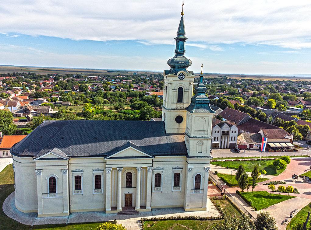 Crkva Svetog Vaznesenja Gospodnjeg, Čurug