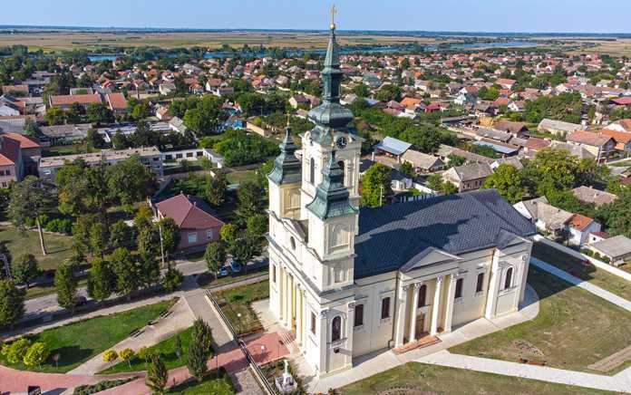 Crkva Vaznesenja Gospodnjeg, Čurug