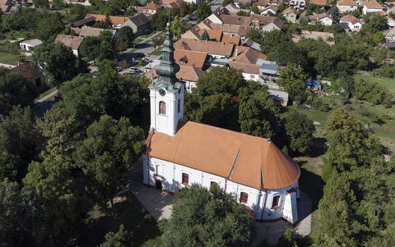 Gradnulička crkva: grob hilandarskog monaha i brest star pola milenijuma
