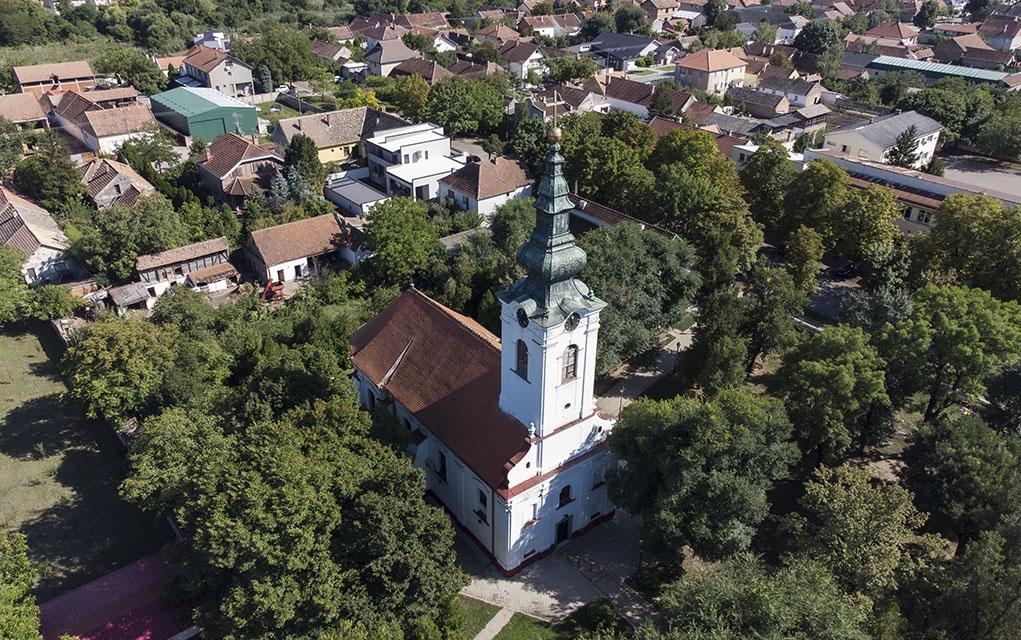 Gradnulička crkva u Zrenjaninu; Foto: 105.rs